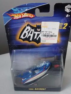 Miniatura Hot Wheels Batman 1966 Batboat Lacrado 1:50 Mattel