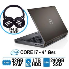 Workstation Dell M6800 I7 Hd1tb 32gb Ssd240 Nvidia 4gb Gamer