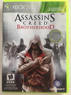 Juego Xbox 360 Assassins Creed Brotherhood
