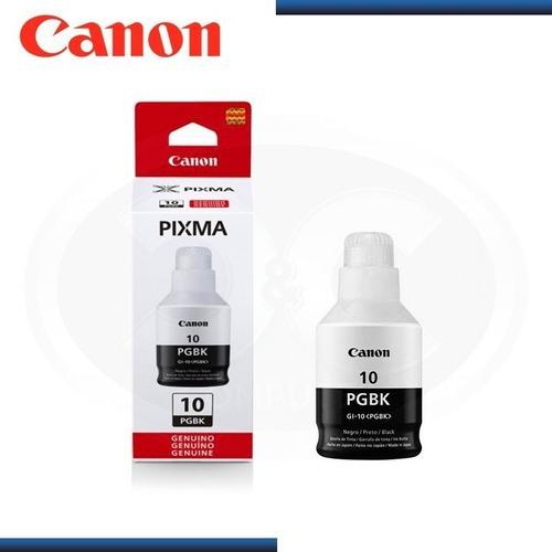 Imagen 1 de 5 de Botella De Tinta Canon Gi-10 Pgbk Negro