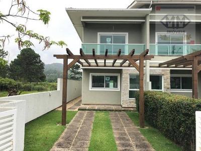 Casa Com 3 Dormitórios Para Alugar, 127 M² Por R$ 2.400/mês - São João Do Rio Vermelho - Florianópolis/sc - Ca1661