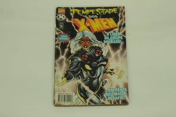 Hq Tempestade Dos X-men Especial Lider Equipe Dourada Abril