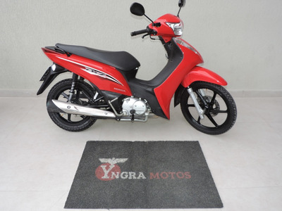 Honda Biz 125 2017 C/ Partida E Pedal C/ 1.551 Km Nova