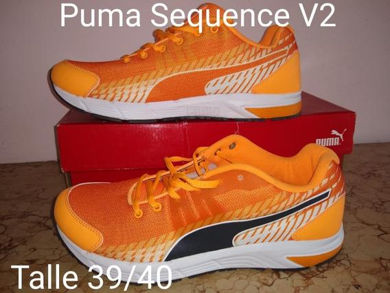 Zapatillas Puma Hombre Talle 39 40 Sequence V2