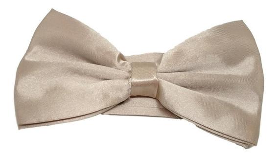 Gravata Borboleta Com Regulador Adulto E Infantil
