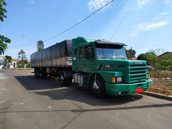 Caminhão Scania 112hs Ano 88 Carreta Rodolino Ano 2006