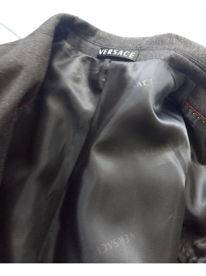 Terno Completo Novo Preto Versace Importado Ligitimo