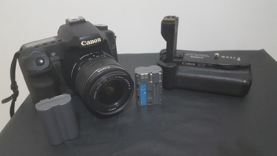 Camera Canon Eos 50d Lente Ef-s 18-55mm Battery Grip Bge2n