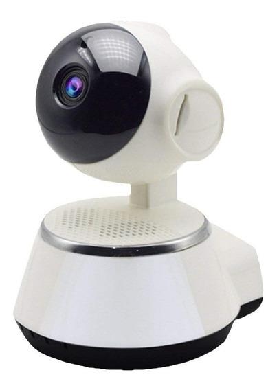 Camara Ip Seguridad V380 Graba Hd 360º Wifi Intercomunicador