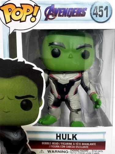 Hulk Avengers 451 Funko Pop Alternativo Importado