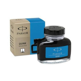 Vidro De Tinta Para Tinteiro Parker 57ml Azul Claro S0037480