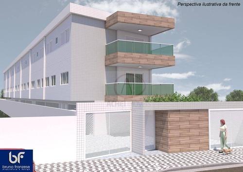 Casa Com 3 Dormitórios, 1 Suíte E 2 Vagas Fechadas  À Venda, 135 M² Por R$ 620.000 - Campo Grande - Santos/sp - Ca1821