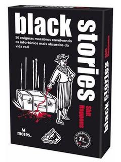 Black Stories Shit Happens - Card Game - Galápagos