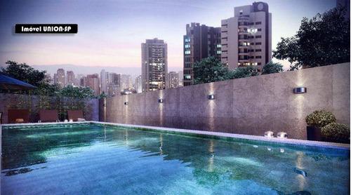 Imagem 1 de 15 de Studio Com 1 Dormitório À Venda, 31 M² Por R$ 418.729,00 - Campo Belo - São Paulo/sp - St1598