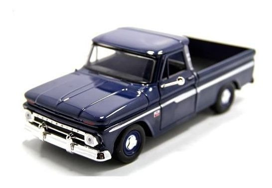 Chevy - C10 Fleetside Pickup 1966 - Escala 1:24 - Motormax
