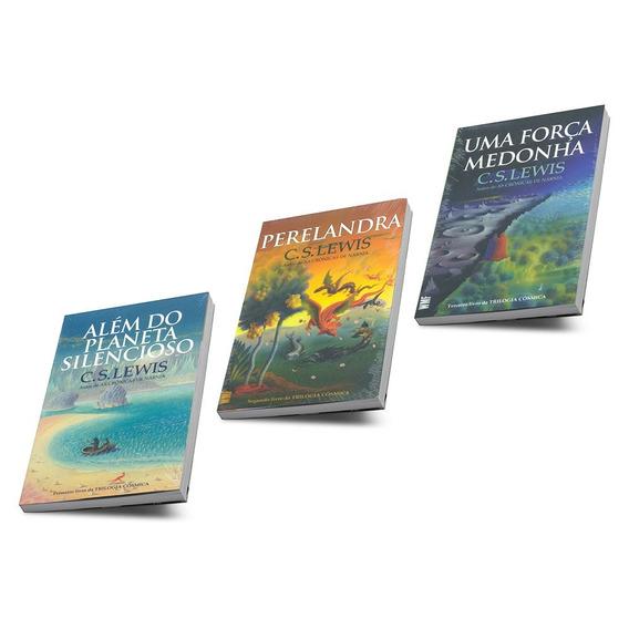 Trilogia Cósmica C S Lewis Coleção Completa