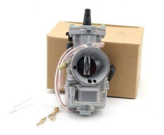 Carburador Koso 34mm Competição Guilhotina Com Powerjet