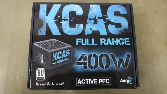 Fonte Aerocool 400w 80 Plus White Kcas