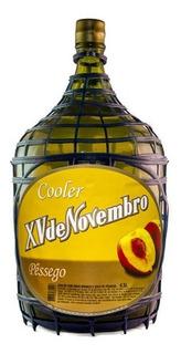 Cooler Vinho Branco C/ Suco De Pêssego 4,5l- Xv De Novembro
