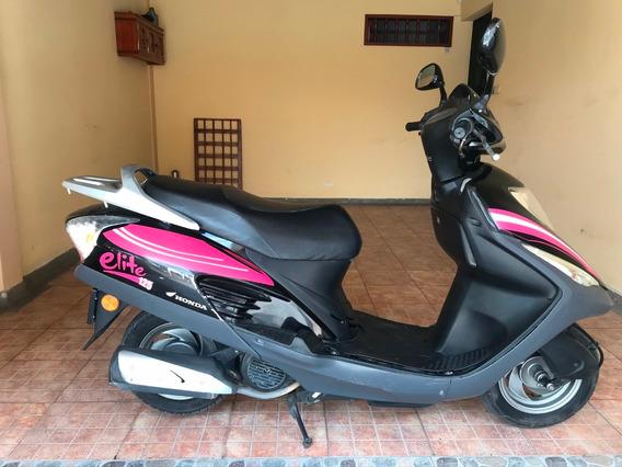 Moto Honda Elite 125 Modelo 2012 Papeles Hasta Enero 2021
