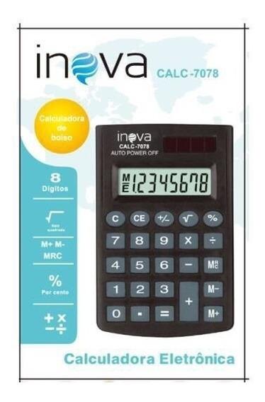 Calculadora Inova Calc-7078 30 Unidades