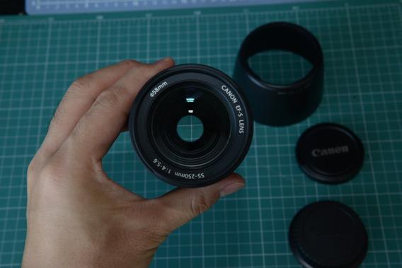 Lente Canon 55-250 Efs