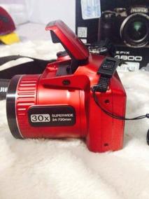 Camera Fujifilm S4800 Vermelha