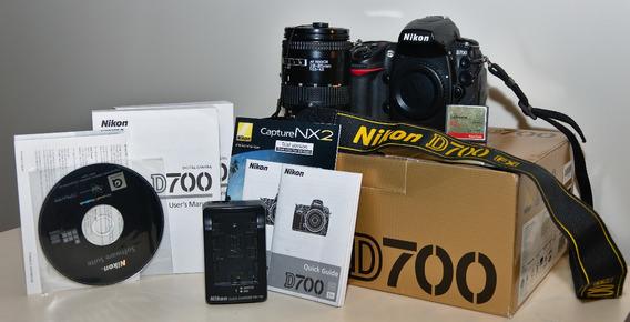 Câmera Nikon D700 + Lente 28-85mm + Grip + 32gb Extreme