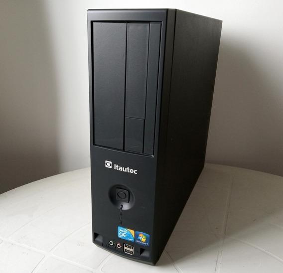 Desktop Itautec St4271 Core I5 650 + 500gb + 4gb + W7