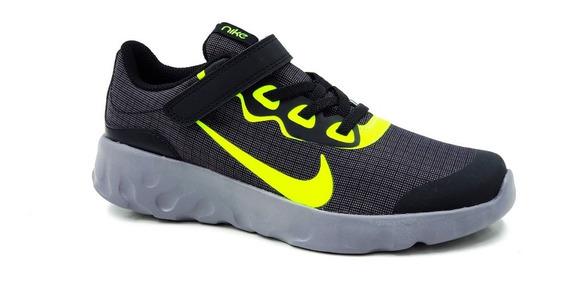Nike Explore Strada Cd9016005 Negro/verde Niño