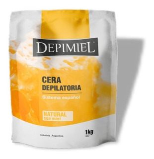 Cera Depilatoria Depimiel Sistema Español 1kg Profesional