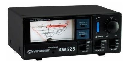Medidor Roe Voyager Kw - 525 Mede Potencia E Roe (swr)
