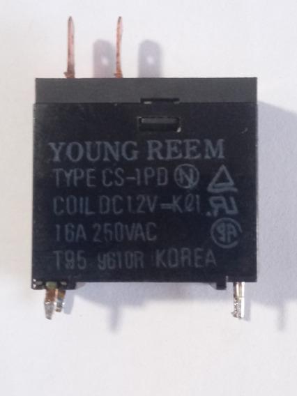 Rele De Microondas Young Reem 12v 16a 250vac