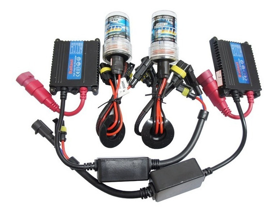 Kit Xenon4300k/6k/10k/12k H1 H3 H4 H7 H8 H11 H16 H27 Hb3 Hb4