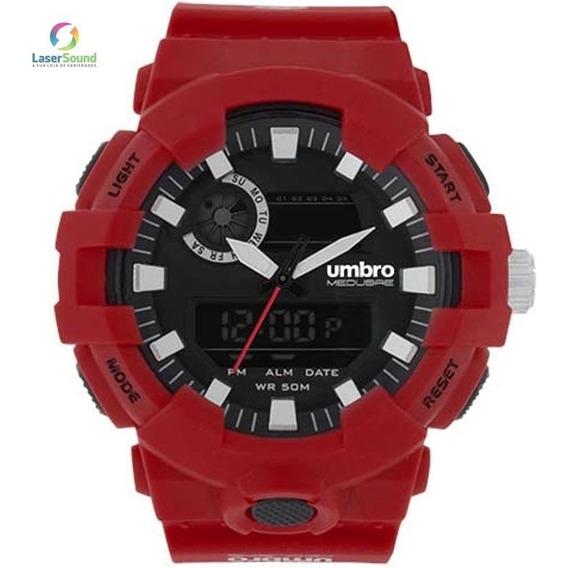 Relógio Umbro Masculino Umb-069-3 Com Garantia E Nf