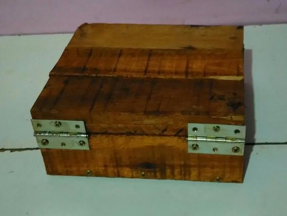 Caixa De Joias De Madeira