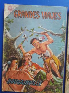 2 Revistas Comic Grandes Viajes Ed Novaro 1965