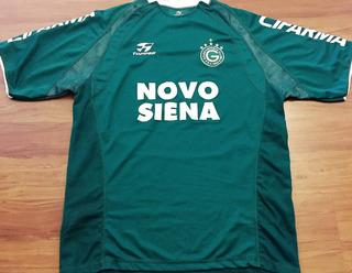 Camisa Goiás Usada Jogo Campeonato Brasileiro 2004