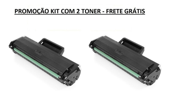 Kit Com 2 Toner Samsung D104 Ml1665 Scx3200 Ml1860