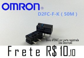 2 Switch Omron D2fc-f-k 50m 50 Milhões Botão Mouse Razer