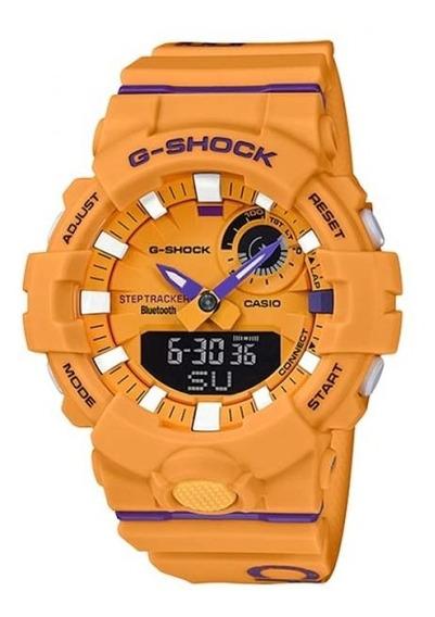 Relógio Masculino Gba-800dg-9 Amarelo