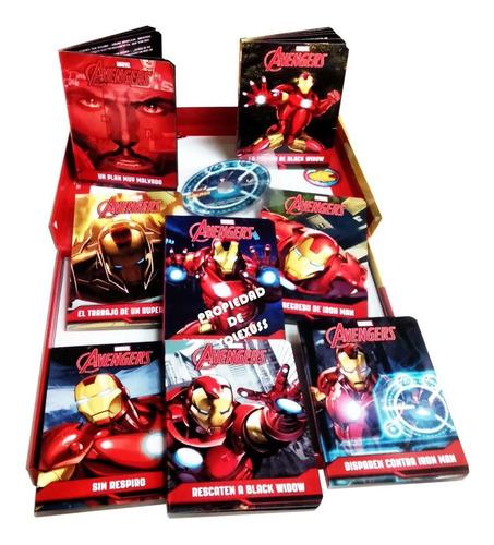 Libro Cuentos De  Iron Man 8 Cuentos  Acartonados