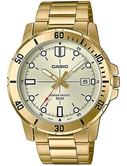 Relógio Casio Collection Masculino Mtp-vd01g-9evudf
