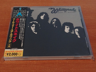 Whitesnake Ready An´ Willing Cd Japones 2007 4 Bonus Tracks