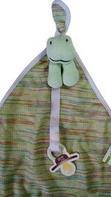 Naninha Blanket Atoalhado Sapinho Zip