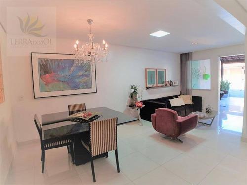 Casa Plana Em Condomínio Fechado, Nascente E 100% Reformada. - Ca0881