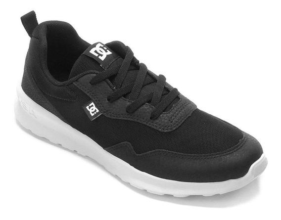 Tênis Dc Shoes Hartferd Preto/branco Adys700140