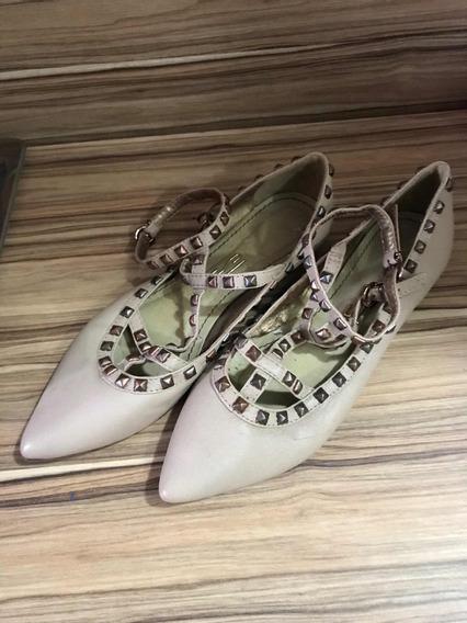 Sapato Santa Lolla - Nude