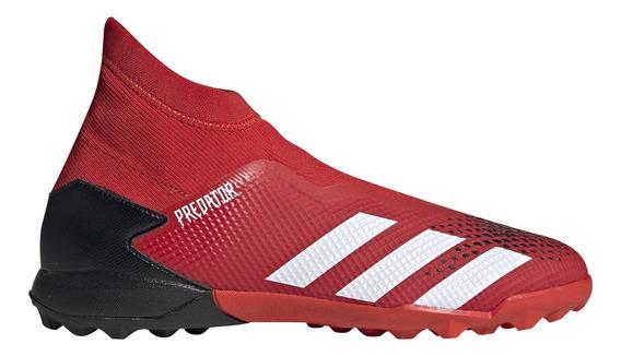 Botines adidas Futbol Predator 20.3 Ll Tf Hombre Rj/ng