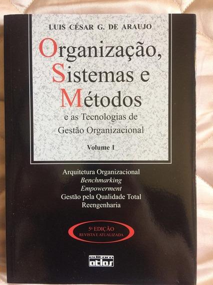 Livro Organização Sistemas E Métodos
